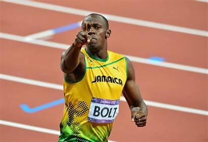 Bolt Usain Record Jamaica Track 100m Sports