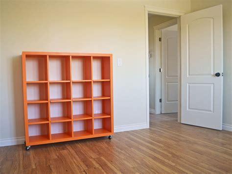 rolling cube shelf adjustable shelves ana white