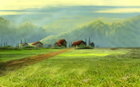 dream village wallpapers hd wallpapers id