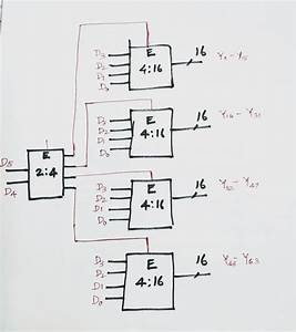 How To Implement 6 64 Decoder Using 4 16 Decoder
