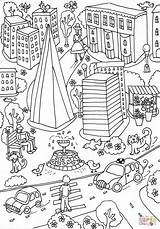 Hospital Coloring London Guy Printable Drawing Giant Poster Paper Through Supercoloring Guys Categories sketch template