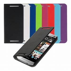 kwmobile FLIP COVER FOR HTC ONE MINI 2 CASE SLIM BACK ...