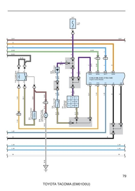 Wiring Diagram For Fuel Pump Tacoma World