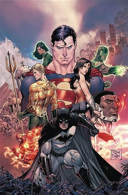 Justice Dc League Rebirth Comics Comic Jla