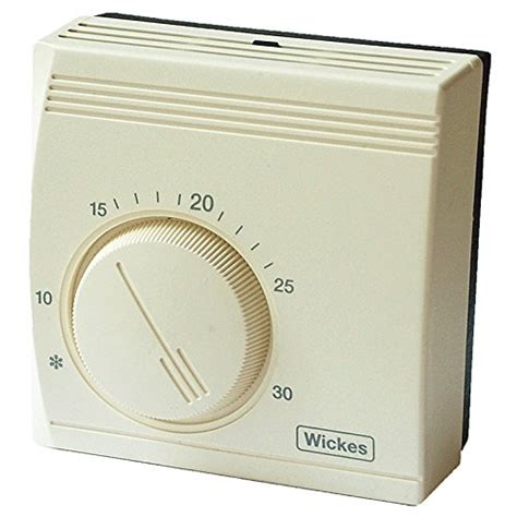 wickes universal room thermostat energy save mechanical temperature control 3035 ebay