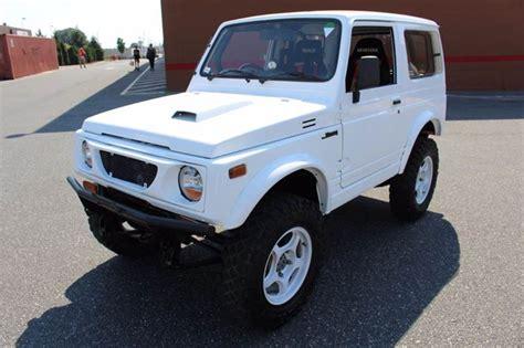 Used Suzuki Samurai For Sale by White Suzuki Samurai For Sale Used Cars On Buysellsearch