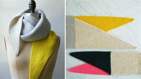tuto deco chambre tricot 20 tutos d 39 écharpe pour débutants diaporama photo