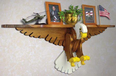 eagle shelf woodworking plan woodworkersworkshop