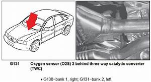 Where Are The Oxygen Sensors Located On An Audi 2002 A6