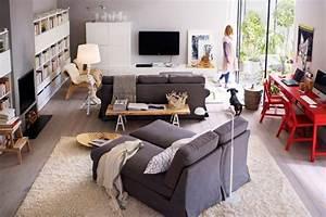 Deco Salon Ikea : id e d coration salon ikea ~ Teatrodelosmanantiales.com Idées de Décoration