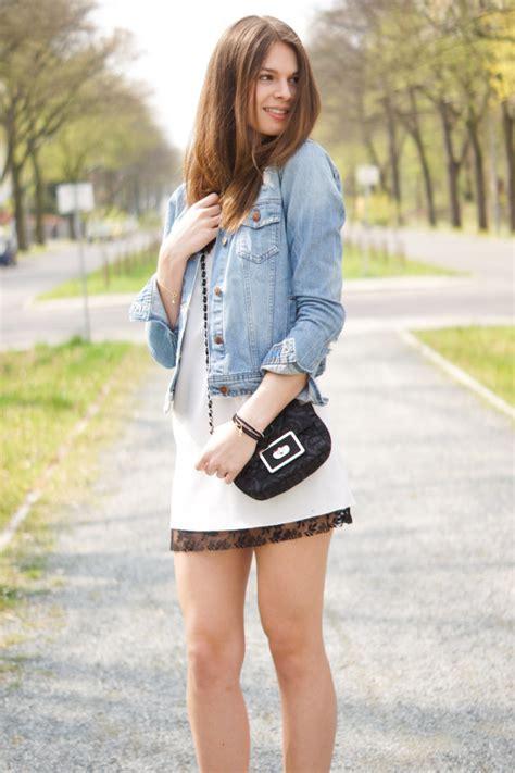 kleid mit jeansjacke weibes kleid mit jeansjacke stylische kleider f 252 r jeden tag