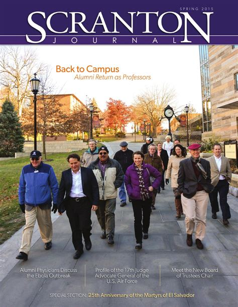 ISSUU - Scranton Journal Spring 2015 by The University of ...