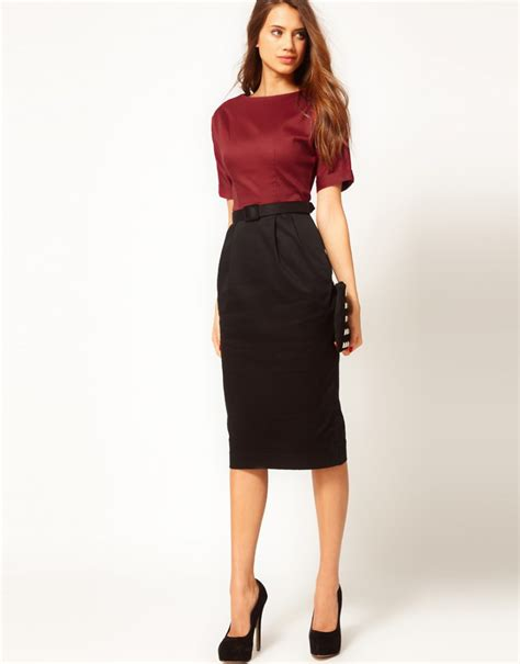 Pencil Skirt Outfits For Office 2014-2015 | Fashion Trends 2016-2017