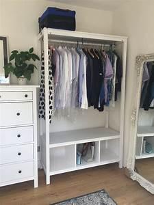 Ikea Hemnes Garderobe : ikea hemnes open wardrobe new and assembled in hampstead london gumtree ~ A.2002-acura-tl-radio.info Haus und Dekorationen