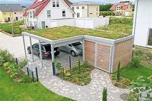 Garage Mit Carport : produktschau garagen und carports mein eigenheim ~ Orissabook.com Haus und Dekorationen