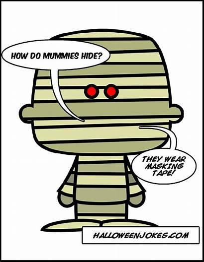 Mummy Halloween Joke Jokes Funny Quotes Cartoons