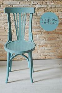 sillas colores pintadas chalkpaint Furniture and painted furniture Pinterest Sillas, Color