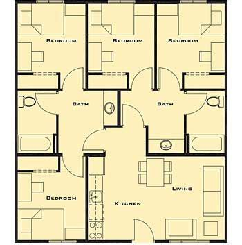 small  bedroom house plans  home future students