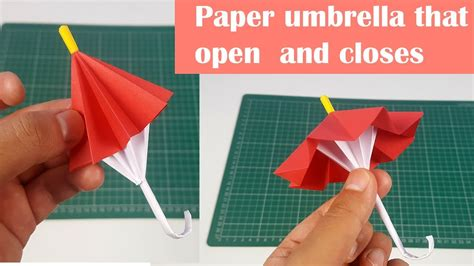 Paper Umbrella That Opens And Closeseasy 5 Minute Version