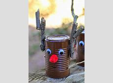 10 Amazing Tin Can Christmas Crafts