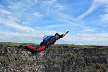 Base Jumping Extreme Jump Diving Falls Twin