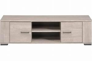 Meuble Chene Gris : meuble tv ch ne gris plaqu bois cannes design pas cher sur sofactory ~ Teatrodelosmanantiales.com Idées de Décoration