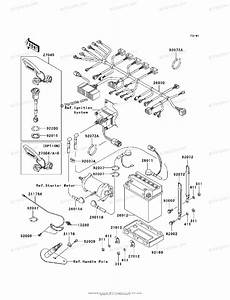 Kawasaki Jet Ski 2003 Oem Parts Diagram For Electrical