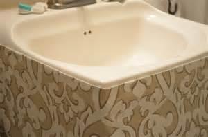 17 best ideas about bathroom sink skirt on pinterest
