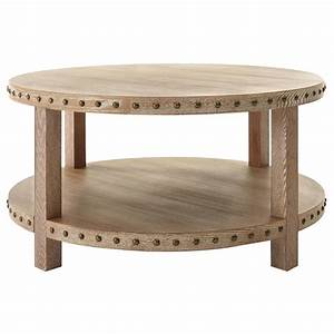 home decorators collection maldives walnut coffee table With washed oak coffee table