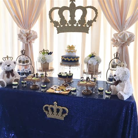 baby shower prince theme a royal prince or king themed baby shower party time