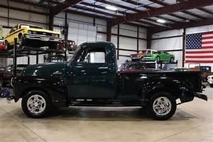 1952 Chevrolet Pickup 209 Miles Green  Black Pickup Truck 6