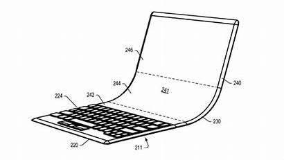 Foldable Lenovo Laptop Screen Money Concept Gives