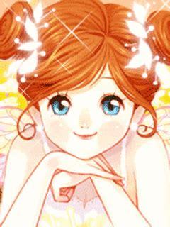 anime wanita yang imut gambar kartun korea cewek cantik animasi bergerak korea