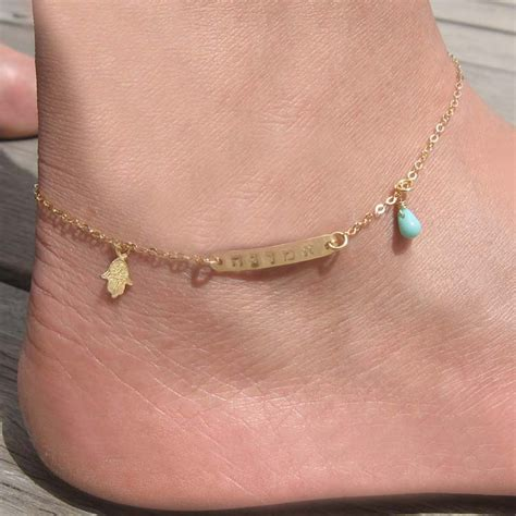 Gold Name Anklet One Name Bar Anklet Customized Ankle Bracelet. September Birthstone Sapphire. Imitation Engagement Rings. Aquamarine Bracelet. 14 K Earrings. 14k Anklet. Solid Gold Necklace. Ball Necklace. Combat Watches