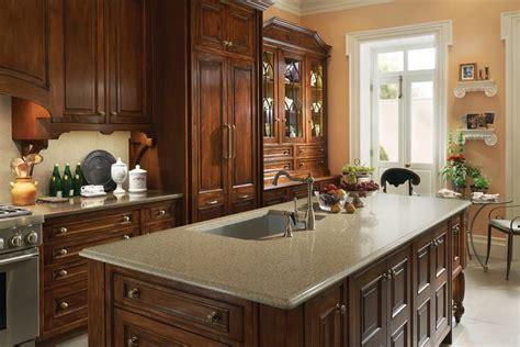 exciting  door styles  wood mode kitchen designs