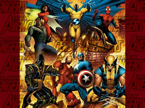 wallpapers comics wallpaper  avengers