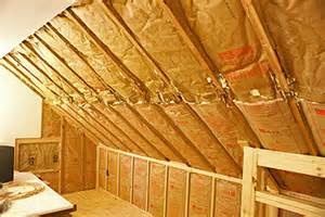 smart placement one and a half story house ideas installing rigid foam insulation on interior walls or ceiling