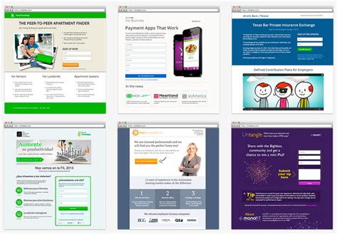 instapage templates instapage build and a b test professional landing pages in minutes