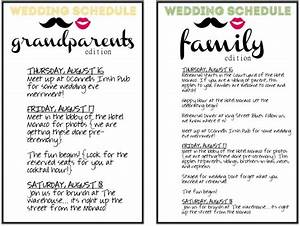 7 best images of program printable wedding day schedule for Wedding photography schedule