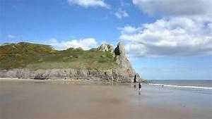 Swansea Beach, Wales - YouTube