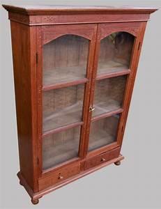 Petit Meuble Vitrine : belle petite vitrine en teck ~ Melissatoandfro.com Idées de Décoration