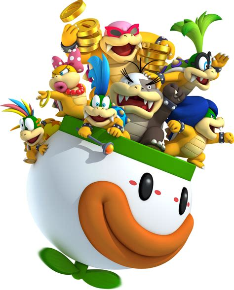 Tommys Super Mario Blog About The Koopalings