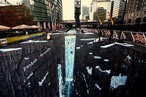 25+ New Cool & Creative 3D Street Art Paintings 2012