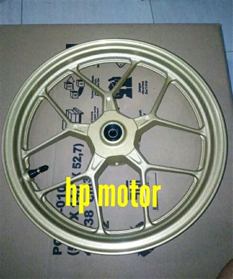 jual velg vario 125 vario 150 esp gold set depan belakang original ahm di lapak hp motor