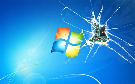 windows  cracked screen wallpaper wallpapersafari