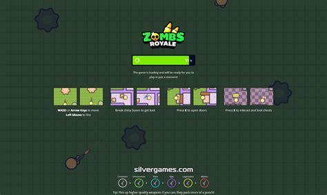 royale zombs io games screen silvergames screenshots