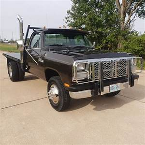 1991 Dodge D350 4x4 Cummins Diesel  2 Owners  Original Low