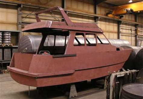 Build Your Own Fiberglass Boat Kit by 1000 10m Steel Kits Power Boat Building