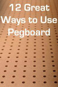 Pegboard Selber Bauen : there are a million uses for pegboard pegboard is amazing ~ Watch28wear.com Haus und Dekorationen