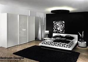 5 black and white bedroom designs ideas With black and white bedroom decor